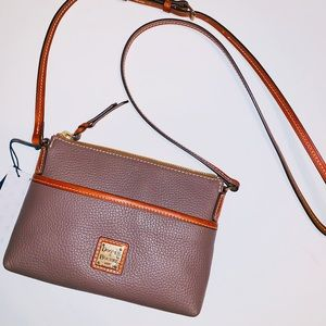 NEW Dooney & Bourke Small Leather Crossbody